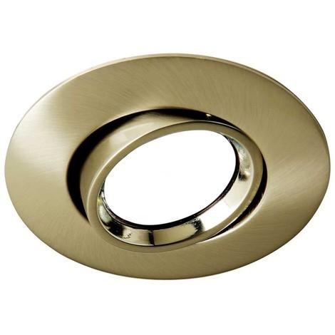 Foco empotrable ROUND II oro viejo. Wonderlamp