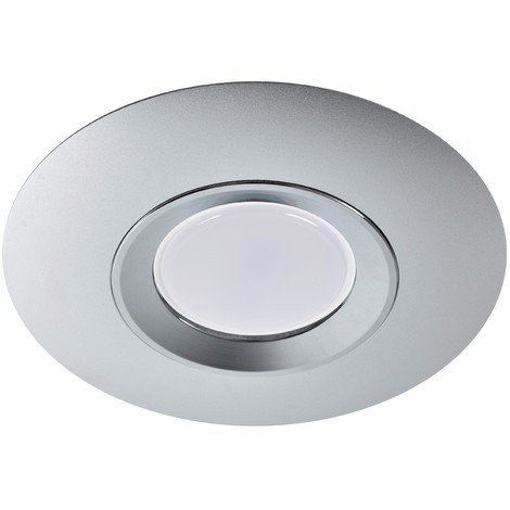 Foco empotrable ROUND plata - Wonderlamp