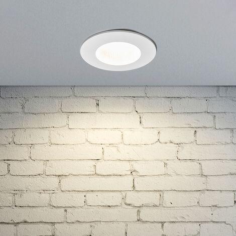 Foco empotrado LED Kamilla, blanco, IP65, 11W