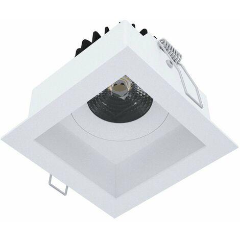 Foco empotrado, Novalux Pix cuadrado blanco 65mm LED 10W 3000K 103701.01