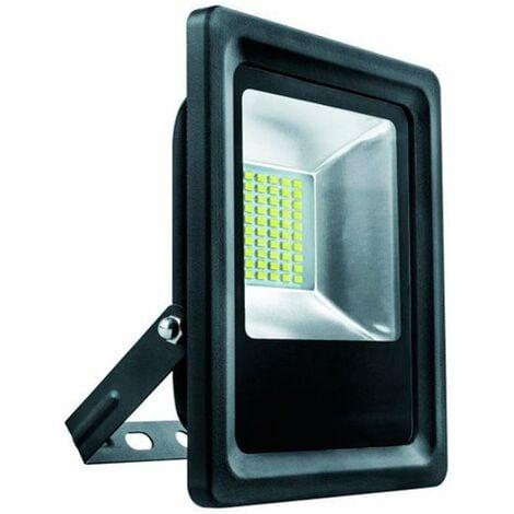 Foco ext. LED 10w 500lm rgb negro