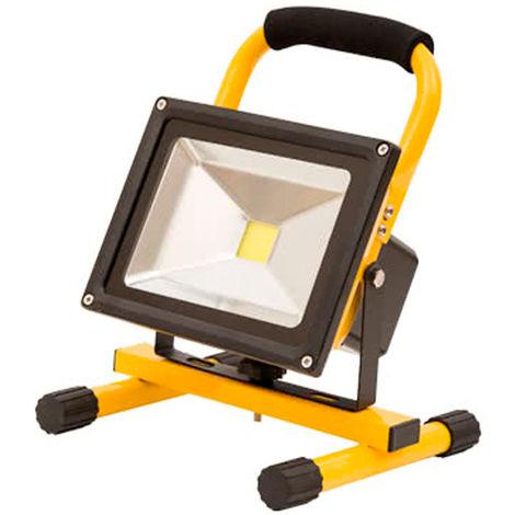 Foco exterior LED c/batería 20W 1800lm
