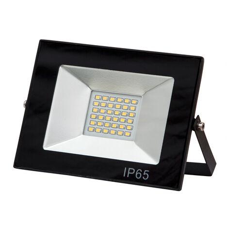 Foco exterior LED con soporte IP65 4000K