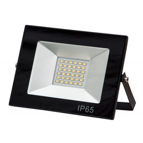 Foco exterior LED con soporte IP65 6500K