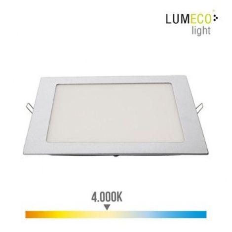 Foco ilumin 20w 1500lm 4000k Ø22cm downlight edm alu/plast c