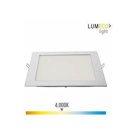 Foco Iluminacion 20W 1500Lm 4000K 22Cm Downlight Edm Alu/Plast C