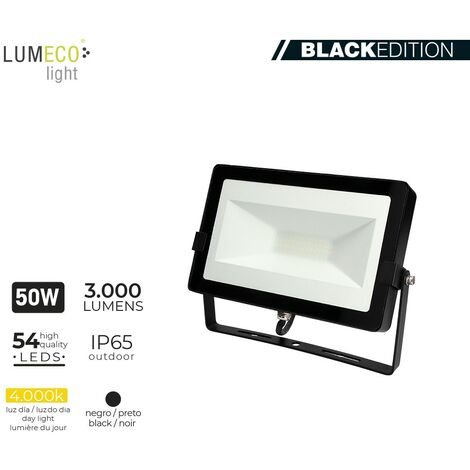 "FOCO LED 50W 4000K 3000 LUMEN ""BLACK EDITION"" LUMECO"