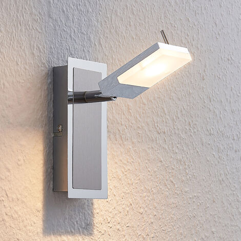 Foco LED Alija, cromo, 1 foco