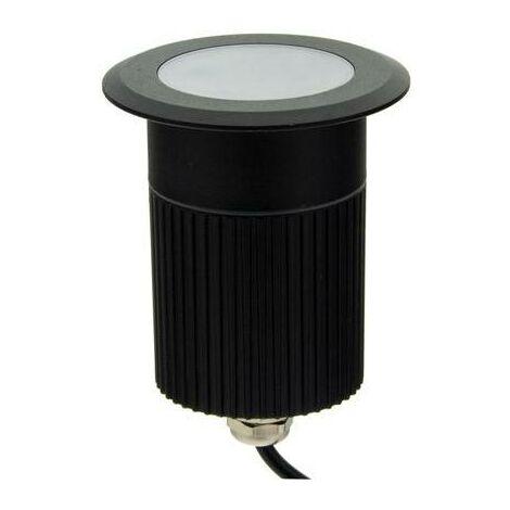 Foco LED bañador empotrable en suelo RGB 12W 12V-DC IP67   RGB