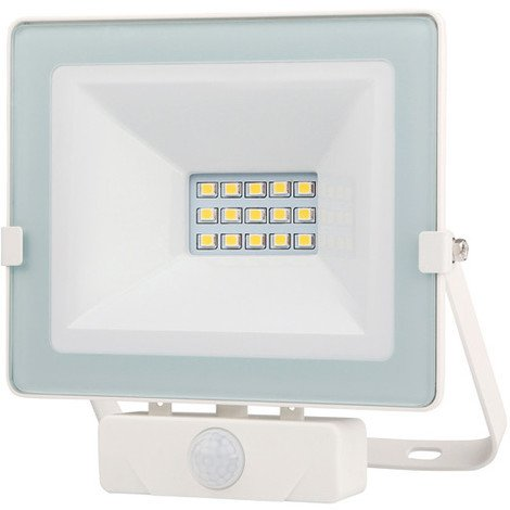Foco Led Blanco Ip65 Con Sensor 10 W - - Pt1680
