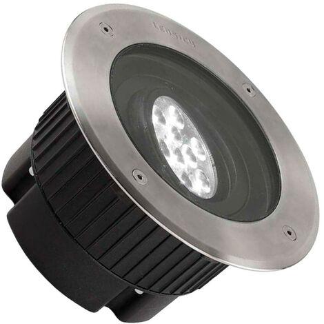 Foco LED Circular Empotrable en Suelo Gea Power 18W 15º IP67 LEDS-C4 55-9667-CA-CL Blanco Cálido 2700K - 3200K
