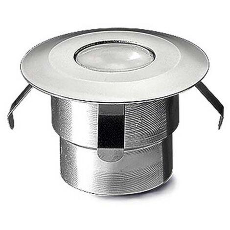 Foco LED Circular Empotrable en Suelo Gea Signaling 0.5W IP67 LEDS-C4 55-9768-54-T2 Blanco Neutro 4000K - 4500K