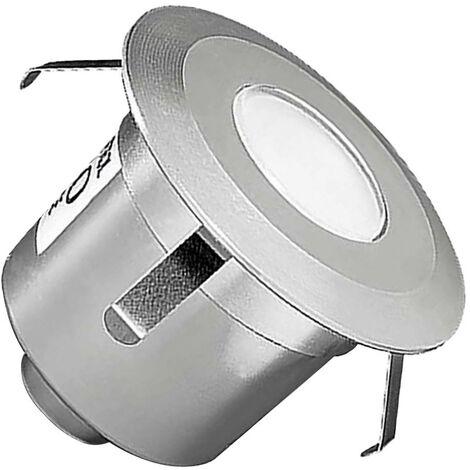 Foco LED Circular Empotrable en Suelo Gea Signaling 1W IP67 LEDS-C4 55-9769-54-T2 Blanco Neutro 4000K - 4500K