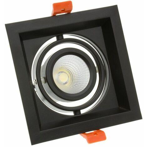 Foco LED CREE-COB Direccionable Madison Negro 10W LIFUD (UGR 19)