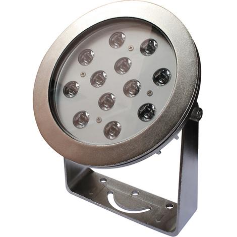 Foco LED de acero AISI 316 de alta calidad IP68 para Fuente, piscina, jardín RGB