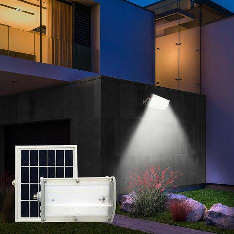 Foco LED de luz solar 1000 Lumen Sensor crepuscular ZAMBOT y movimiento