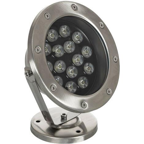 Foco LED de Superficie 12V 15W Sumergible IP68 Blanco Neutro 4000K - Blanco Neutro 4000K
