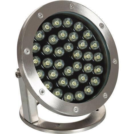 Foco LED de Superficie 12V 36W Sumergible IP68 Blanco Neutro 4000K - Blanco Neutro 4000K