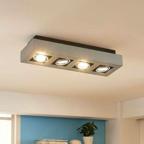 Foco LED de techo Vince con 4 luces