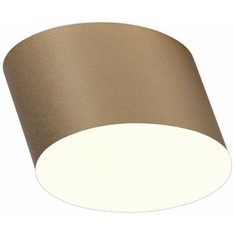 Foco LED Diuna 1 Bombilla Dorado Satinado 41 Cm