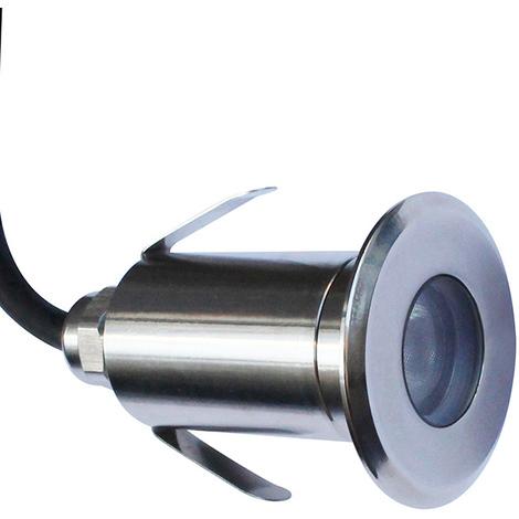 Foco LED Edisom Premium en acero AISI 316L