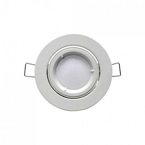 Foco LED Empotrable Orientable Redondo GU10 7W 560lm Ø7cm