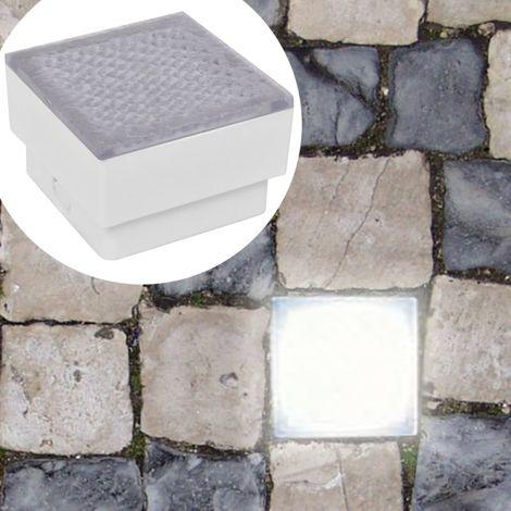 Foco LED empotrable para el exterior, 100 x 100 x 68 mm
