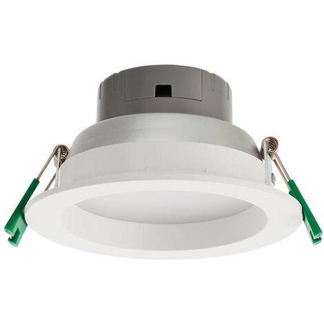 Foco LED empotrable Rehacer 8W 3000K 90° IP44 de la forma redonda EV01WW