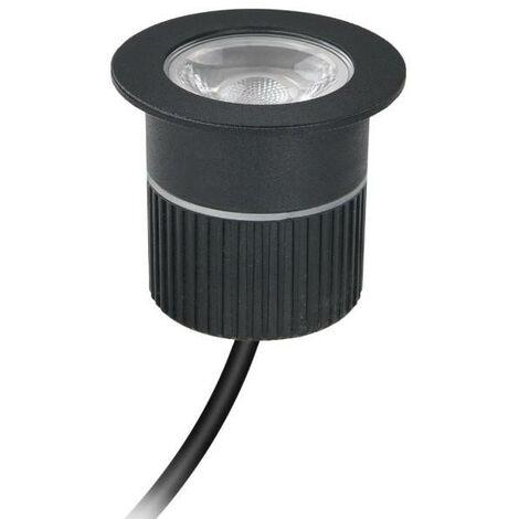 Foco LED empotrable suelo 4,5W 100-240V-AC IP67   Blanco Cálido