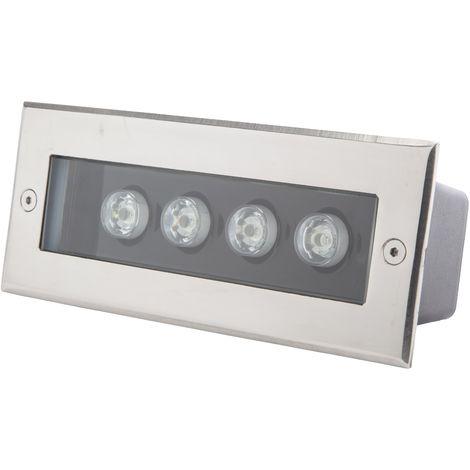 Foco LED Empotrar Rectangular IP67 4W 360Lm 30.000H Cecilia