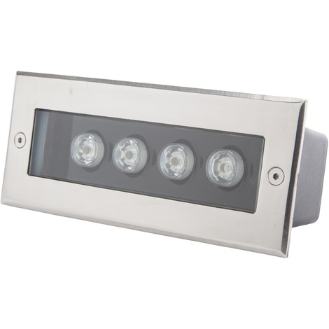 Foco LED Empotrar Rectangular IP67 4W 360Lm 30.000H Cecilia | Blanco Cálido (PL-2123020-CW)