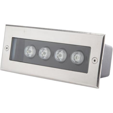 Foco LED Empotrar Rectangular IP67 4W 360Lm 30.000H Cecilia   Blanco Frío (PL-2123020-CW)