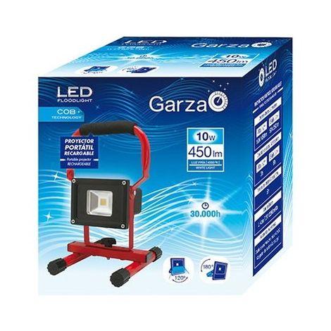 FOCO LED GARZA RECARGABLE 4000K 10W 400825