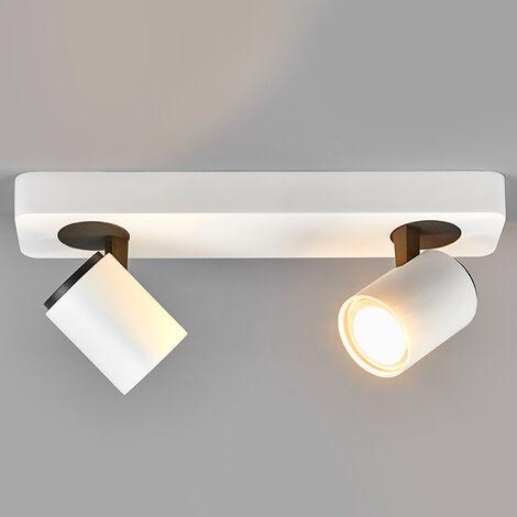 Foco LED GU10 Sean de 2 luces