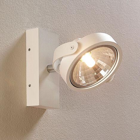 Foco LED Lieven blanco para pared o techo