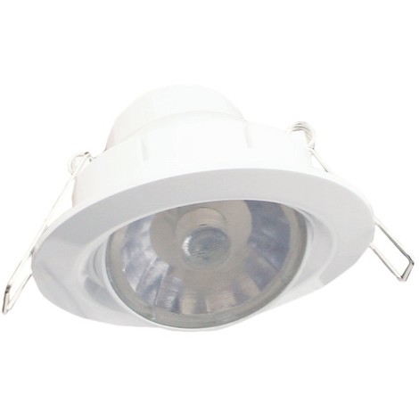 Foco LED orientable luz fría (8W)