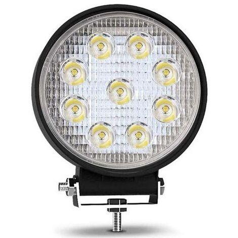Foco LED para maquinaria, automoción y náutica 27W -1400lm - Ángulo Abierto