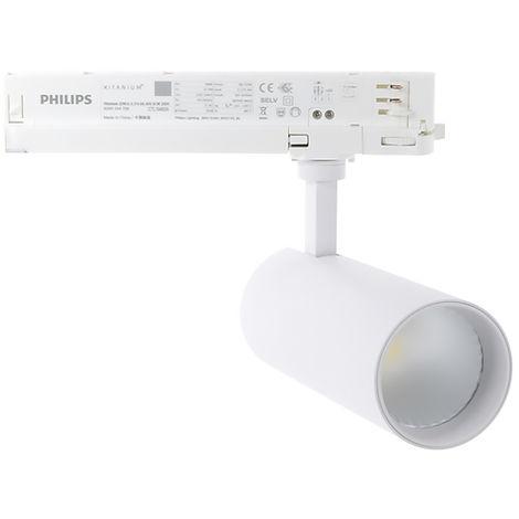 Foco LED Philips Blanco 32W Trifásico para Carril  (5 Años de Garantía)