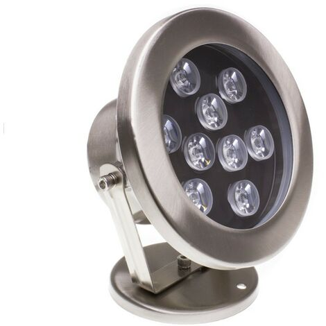 Foco LED RGB de Superficie 12V 9W Sumergible IP68