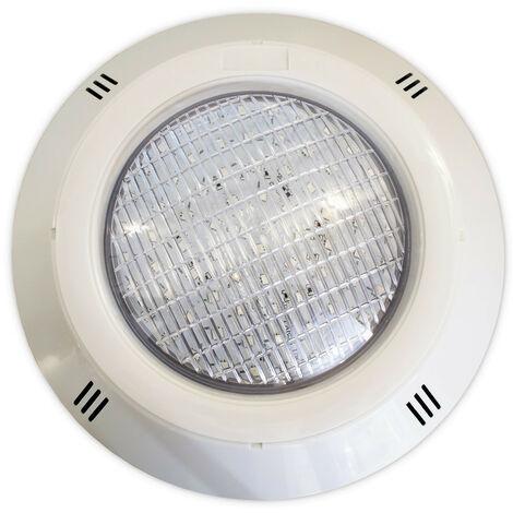 Foco LED RGB ON/OFF 18W 12V AC de superficie para piscina Gama Basic