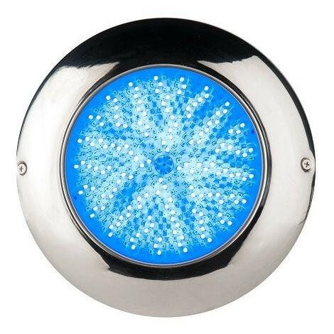 Foco LED RGB ON/OFF 24W 12V AC en Airless en Acero Inoxidable Marino