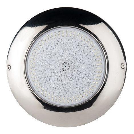 Foco LED RGB ON/OFF de superficie relleno de resina Airless en Acero inoxidable AISI316L | Potencia: 24W