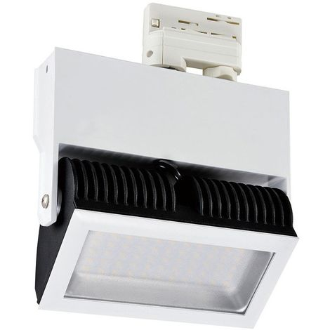 Carril Trif/ásico para Focos LED 2 Metros Negro efectoLED