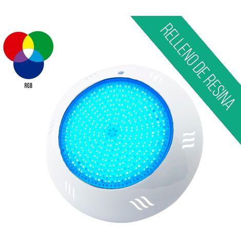 Foco led superficie relleno de resina 25W luz RGB para piscina - RGB