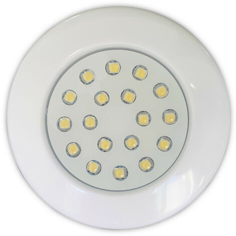 Foco mini plano LED para escalera o spa