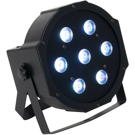 Foco PAR LED Plano RGBW 7x10W