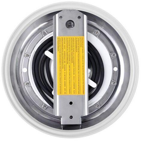 Foco Piscina LED RGBW Superficie 12V DC Acero Inoxidable 12W