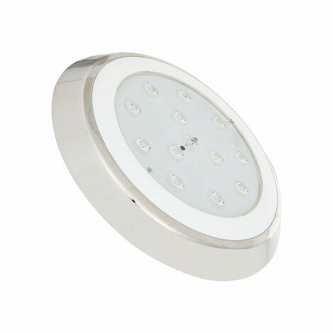 Foco Piscina LED Superficie 24W Blanco Cálido 3000K