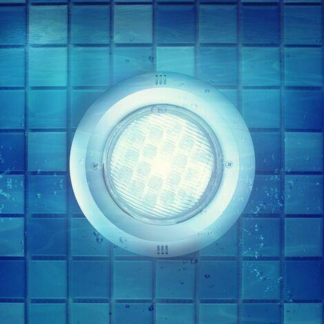 Foco Piscina LED Superficie Inox 12V AC/DC 9W