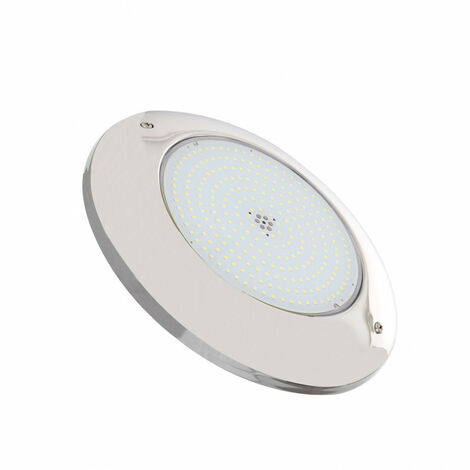Foco Piscina LED Superficie Inox 6000K 12V AC/DC 20W